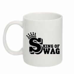 Кружка 320ml King of SWAG - FatLine