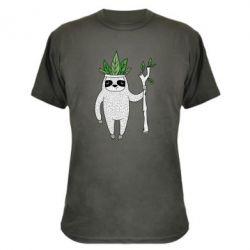Камуфляжная футболка King sloths