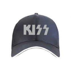 кепка Kiss Logo - FatLine