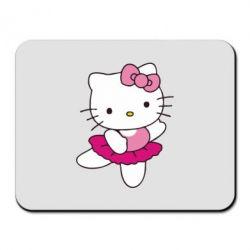 Килимок для миші Kitty балярина - FatLine