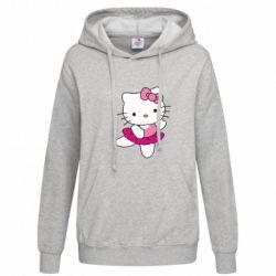 Толстовка жіноча Kitty балярина - FatLine