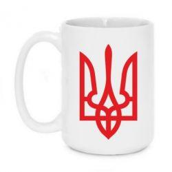 Кружка 320ml Класичний герб України - FatLine