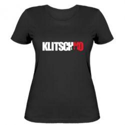 Женская футболка Klitschko - FatLine