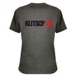 Камуфляжная футболка Klitschko - FatLine