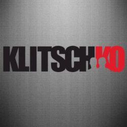 Наклейка Klitschko