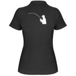 Женская футболка поло Клюёт! - FatLine