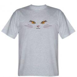 Мужская футболка Кошачек - FatLine