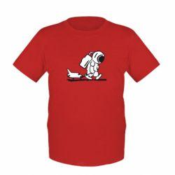 Детская футболка Космонавт - FatLine