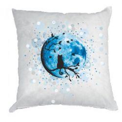 Подушка Кіт та Місяць