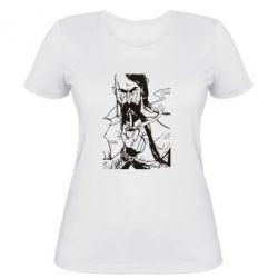 Женская футболка Козачина з люлькою - FatLine