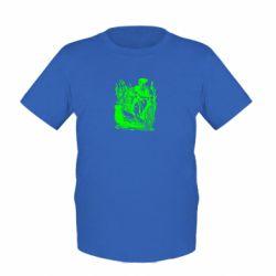 Детская футболка Козак у камишу - FatLine