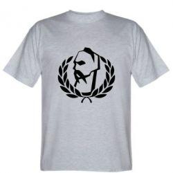 Мужская футболка Козак у вінку - FatLine