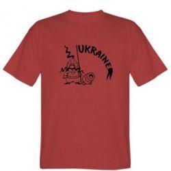 Мужская футболка Козак з гарматою - FatLine