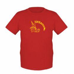 Детская футболка Козак з гарматою - FatLine