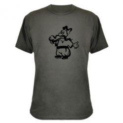 Камуфляжная футболка Козак з люлькою - FatLine