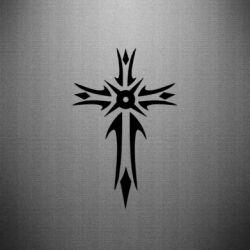 Наклейка Крест 2 - FatLine