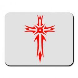 Коврик для мыши Крест 2 - FatLine