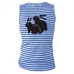 Майка-тельняшка Кролики - FatLine