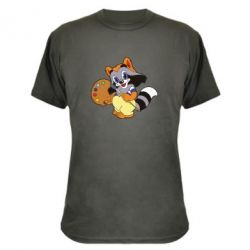 Камуфляжная футболка Крошка Енот