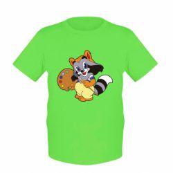 Дитяча футболка Крихітка Єнот