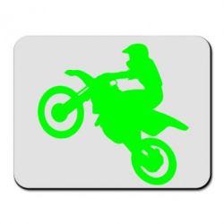 Коврик для мыши Кроссовый мотоцикл - FatLine