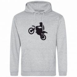 Толстовка Кроссовый мотоцикл - FatLine