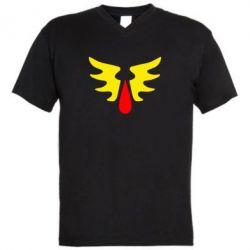 Мужская футболка  с V-образным вырезом Кровавые Ангелы - WarHammer - FatLine
