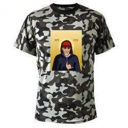 Камуфляжная футболка Кровосток Шило - FatLine