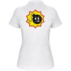Женская футболка поло Крутой Сем - FatLine