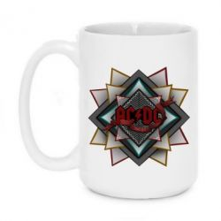 Кружка 420ml AC/DC Art Logo - FatLine