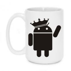 Кружка 420ml Android King