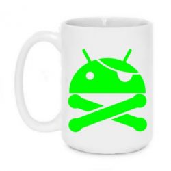 Кружка 420ml Android Pirate - FatLine