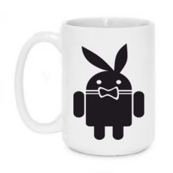 Кружка 420ml Android Playboy - FatLine