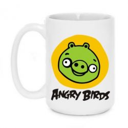 Кружка 420ml Angry Birds Pig - FatLine