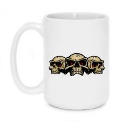 Кружка 420ml Angry Skulls - FatLine