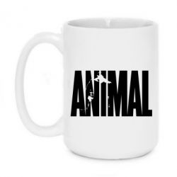 Кружка 420ml Animal Gym