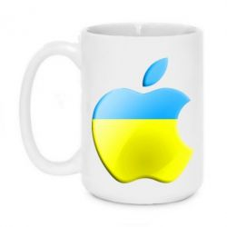 Кружка 420ml Apple Ukraine - FatLine