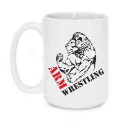 Кружка 420ml Arm Wrestling - FatLine