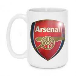 Кружка 420ml Arsenal 3D - FatLine