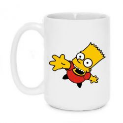 Кружка 420ml Барт Симпсон - FatLine
