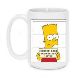 Кружка 420ml Барт в тюряге - FatLine