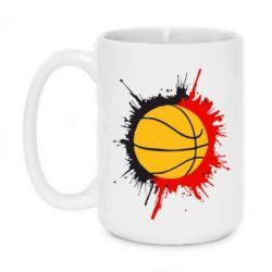 Кружка 420ml Баскетбольный мяч - FatLine