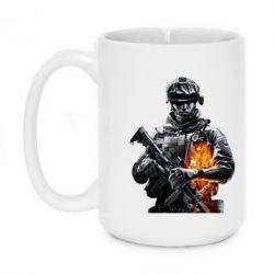 Кружка 420ml Battlefield Warrior - FatLine