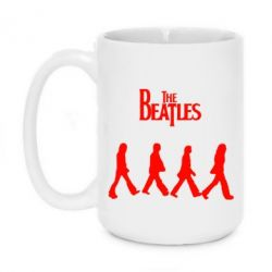 Кружка 420ml Beatles Group - FatLine