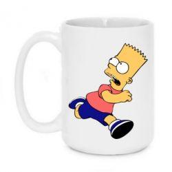 Кружка 420ml Беги, Барт, беги! - FatLine