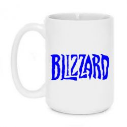 Кружка 420ml Blizzard Logo - FatLine