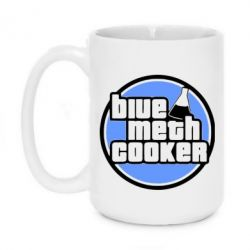 Кружка 420ml Blue Meth Cooker