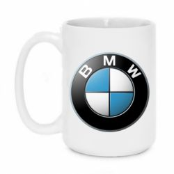 Кружка 420ml BMW Logo 3D - FatLine