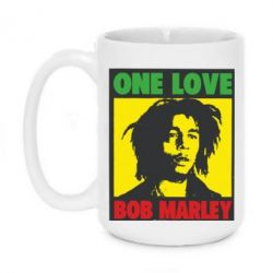 Кружка 420ml Bob Marley One Love - FatLine