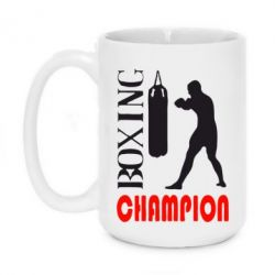 Кружка 420ml Boxing Champion